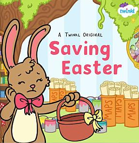 Saving Easter - easter bunny, easter rabbit, easter egg, easter eggs