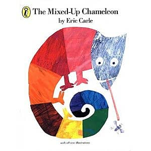 The Mixed-up Chameleon - book, teaching resources, story, cards